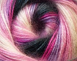 Fiber Content 75% Acrylic, 25% Angora, White, Pink, Lilac, Brand Ice Yarns, Grey Shades, Yarn Thickness 2 Fine  Sport, Baby, fnt2-33241