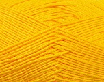 Fiber Content 100% Antibacterial Dralon, Yellow, Brand Ice Yarns, Yarn Thickness 2 Fine  Sport, Baby, fnt2-34594