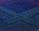 Fiber Content 75% Acrylic, 25% Wool, Purple Shades, Brand Ice Yarns, Yarn Thickness 3 Light  DK, Light, Worsted, fnt2-34600