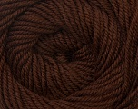 Fiber Content 100% Wool, Brand Ice Yarns, Brown, Yarn Thickness 3 Light  DK, Light, Worsted, fnt2-34710