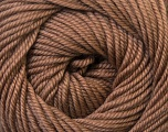 Fiber Content 100% Wool, Brand Ice Yarns, Camel Brown, Yarn Thickness 3 Light  DK, Light, Worsted, fnt2-34712