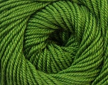 Fiber Content 100% Wool, Brand Ice Yarns, Green, Yarn Thickness 3 Light  DK, Light, Worsted, fnt2-34715