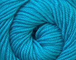Fiber Content 100% Wool, Turquoise, Brand Ice Yarns, Yarn Thickness 3 Light  DK, Light, Worsted, fnt2-34719