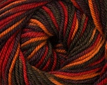Fiber Content 100% Wool, Red, Orange, Khaki, Brand Ice Yarns, Brown, Yarn Thickness 3 Light  DK, Light, Worsted, fnt2-34730