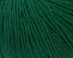 Fiber Content 40% Merino Wool, 40% Acrylic, 20% Polyamide, Brand ICE, Green, Yarn Thickness 2 Fine  Sport, Baby, fnt2-34732