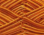 Ne: 8/4. Nm 14/4 Fiber Content 100% Mercerised Cotton, Yellow, Brand Ice Yarns, Brown Shades, Yarn Thickness 2 Fine  Sport, Baby, fnt2-34753