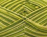 Ne: 8/4. Nm 14/4 Fiber Content 100% Mercerised Cotton, Brand Ice Yarns, Green Shades, Yarn Thickness 2 Fine  Sport, Baby, fnt2-34754
