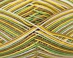 Ne: 8/4. Nm 14/4 Fiber Content 100% Mercerised Cotton, Yellow, White, Khaki, Brand Ice Yarns, Green, Yarn Thickness 2 Fine  Sport, Baby, fnt2-34755
