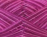 Ne: 8/4. Nm 14/4 Fiber Content 100% Mercerised Cotton, Pink Shades, Maroon, Brand Ice Yarns, Yarn Thickness 2 Fine  Sport, Baby, fnt2-34759