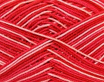 Ne: 8/4. Nm 14/4 Fiber Content 100% Mercerised Cotton, White, Salmon, Red, Brand Ice Yarns, Yarn Thickness 2 Fine  Sport, Baby, fnt2-34760