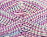 Ne: 8/4. Nm 14/4 Fiber Content 100% Mercerised Cotton, White, Lilac, Brand Ice Yarns, Blue, Yarn Thickness 2 Fine  Sport, Baby, fnt2-34764