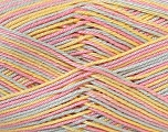 Ne: 8/4. Nm 14/4 Fiber Content 100% Mercerised Cotton, Yellow, Pink, Brand Ice Yarns, Blue, Yarn Thickness 2 Fine  Sport, Baby, fnt2-34765