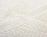 Fiber Content 100% Baby Acrylic, White, Brand Ice Yarns, Yarn Thickness 2 Fine  Sport, Baby, fnt2-34941