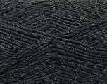 Fiber Content 50% Acrylic, 50% Wool, Brand ICE, Dark Grey, Yarn Thickness 3 Light  DK, Light, Worsted, fnt2-35021