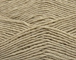 Fiber Content 50% Wool, 50% Acrylic, Brand ICE, Beige, Yarn Thickness 3 Light  DK, Light, Worsted, fnt2-35023