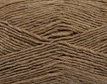 Fiber Content 50% Acrylic, 50% Wool, Brand ICE, Camel, Yarn Thickness 3 Light  DK, Light, Worsted, fnt2-35024