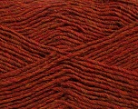 Fiber Content 50% Acrylic, 50% Wool, Brand ICE, Copper Melange, Yarn Thickness 3 Light  DK, Light, Worsted, fnt2-35026