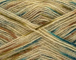 Fiber Content 70% Angora, 30% Acrylic, Brand Ice Yarns, Brown, Blue, Beige, Yarn Thickness 2 Fine  Sport, Baby, fnt2-35087