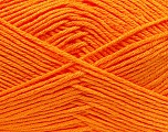 Fiber Content 100% Antibacterial Dralon, Orange, Brand Ice Yarns, Yarn Thickness 2 Fine  Sport, Baby, fnt2-35242