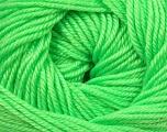 Fiber Content 60% Premium Acrylic, 40% Merino Wool, Brand Ice Yarns, Fluorescent Green, Yarn Thickness 2 Fine  Sport, Baby, fnt2-35566