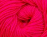 Fiber Content 60% Premium Acrylic, 40% Merino Wool, Brand Ice Yarns, Fluorescent Pink, Yarn Thickness 2 Fine  Sport, Baby, fnt2-35567