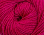 Fiber Content 60% Premium Acrylic, 40% Merino Wool, Brand Ice Yarns, Fuchsia, Yarn Thickness 2 Fine  Sport, Baby, fnt2-35569