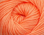 Fiber Content 60% Premium Acrylic, 40% Merino Wool, Light Orange, Brand Ice Yarns, Yarn Thickness 2 Fine  Sport, Baby, fnt2-35571