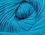 Fiber Content 60% Premium Acrylic, 40% Merino Wool, Turquoise, Brand Ice Yarns, Yarn Thickness 2 Fine  Sport, Baby, fnt2-35574