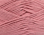 Baby cotton is a 100% premium giza cotton yarn exclusively made as a baby yarn. It is anti-bacterial and machine washable! Fiber Content 100% Giza Cotton, Light Pink, Brand Ice Yarns, Yarn Thickness 3 Light  DK, Light, Worsted, fnt2-35706