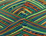 Ne: 8/4. Nm 14/4 Fiber Content 100% Mercerised Cotton, Yellow, Orange, Brand Ice Yarns, Green, Blue, Yarn Thickness 2 Fine  Sport, Baby, fnt2-36283
