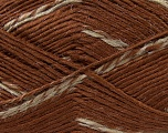 Fiber Content 90% Premium Acrylic, 10% Polyamide, Brand Ice Yarns, Camel, Brown, Yarn Thickness 3 Light  DK, Light, Worsted, fnt2-36295