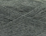 Fiber Content 70% Acrylic, 30% Angora, Brand Ice Yarns, Grey, Yarn Thickness 2 Fine  Sport, Baby, fnt2-36430