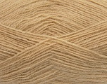Fiber Content 70% Acrylic, 30% Angora, Milky Coffee, Brand ICE, Yarn Thickness 2 Fine  Sport, Baby, fnt2-36435