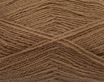 Fiber Content 70% Acrylic, 30% Angora, Brand ICE, Camel, Yarn Thickness 2 Fine  Sport, Baby, fnt2-36437