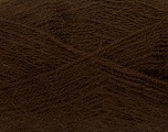 Fiber Content 70% Acrylic, 30% Angora, Brand ICE, Brown, Yarn Thickness 2 Fine  Sport, Baby, fnt2-36438