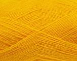 Fiber Content 70% Acrylic, 30% Angora, Yellow, Brand Ice Yarns, Yarn Thickness 2 Fine  Sport, Baby, fnt2-36441