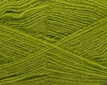 Fiber Content 70% Acrylic, 30% Angora, Brand ICE, Green, Yarn Thickness 2 Fine  Sport, Baby, fnt2-36447