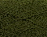 Fiber Content 70% Acrylic, 30% Angora, Brand Ice Yarns, Dark Khaki, Yarn Thickness 2 Fine  Sport, Baby, fnt2-36449