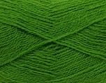 Fiber Content 70% Acrylic, 30% Angora, Brand ICE, Green, Yarn Thickness 2 Fine  Sport, Baby, fnt2-36450