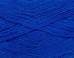 Fiber Content 70% Acrylic, 30% Angora, Brand ICE, Bright Blue, Yarn Thickness 2 Fine  Sport, Baby, fnt2-36458