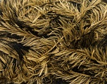 Fiber Content 100% Polyester, Yellow, Brand Ice Yarns, Black, Yarn Thickness 5 Bulky  Chunky, Craft, Rug, fnt2-36732