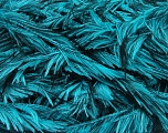Fiber Content 100% Polyester, Turquoise, Brand Ice Yarns, Black, Yarn Thickness 5 Bulky  Chunky, Craft, Rug, fnt2-36740