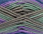 Fiber Content 100% Acrylic, Navy, Mint Green, Lilac, Brand Ice Yarns, Grey, Yarn Thickness 6 SuperBulky  Bulky, Roving, fnt2-36971