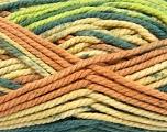 Fiber Content 100% Acrylic, Salmon, Brand Ice Yarns, Grey, Green, Cream, Yarn Thickness 6 SuperBulky  Bulky, Roving, fnt2-36972