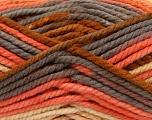 Fiber Content 100% Acrylic, Yellow, Salmon, Brand Ice Yarns, Grey, Yarn Thickness 6 SuperBulky  Bulky, Roving, fnt2-36973