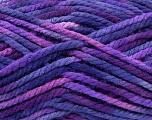 Fiber Content 100% Acrylic, Purple Shades, Brand Ice Yarns, Yarn Thickness 6 SuperBulky  Bulky, Roving, fnt2-36976