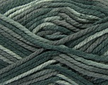 Fiber Content 100% Acrylic, Brand Ice Yarns, Grey Shades, Yarn Thickness 6 SuperBulky  Bulky, Roving, fnt2-36977