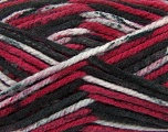 Fiber Content 100% Acrylic, Red, Brand Ice Yarns, Grey Shades, Black, Yarn Thickness 6 SuperBulky  Bulky, Roving, fnt2-36978