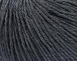 Fiber Content 50% Silk, 30% Merino Superfine, 20% Cashmere, Brand Ice Yarns, Dark Grey, Yarn Thickness 3 Light  DK, Light, Worsted, fnt2-36991