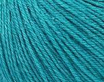 Fiber Content 50% Silk, 30% Merino Superfine, 20% Cashmere, Turquoise, Brand Ice Yarns, Yarn Thickness 3 Light  DK, Light, Worsted, fnt2-36996
